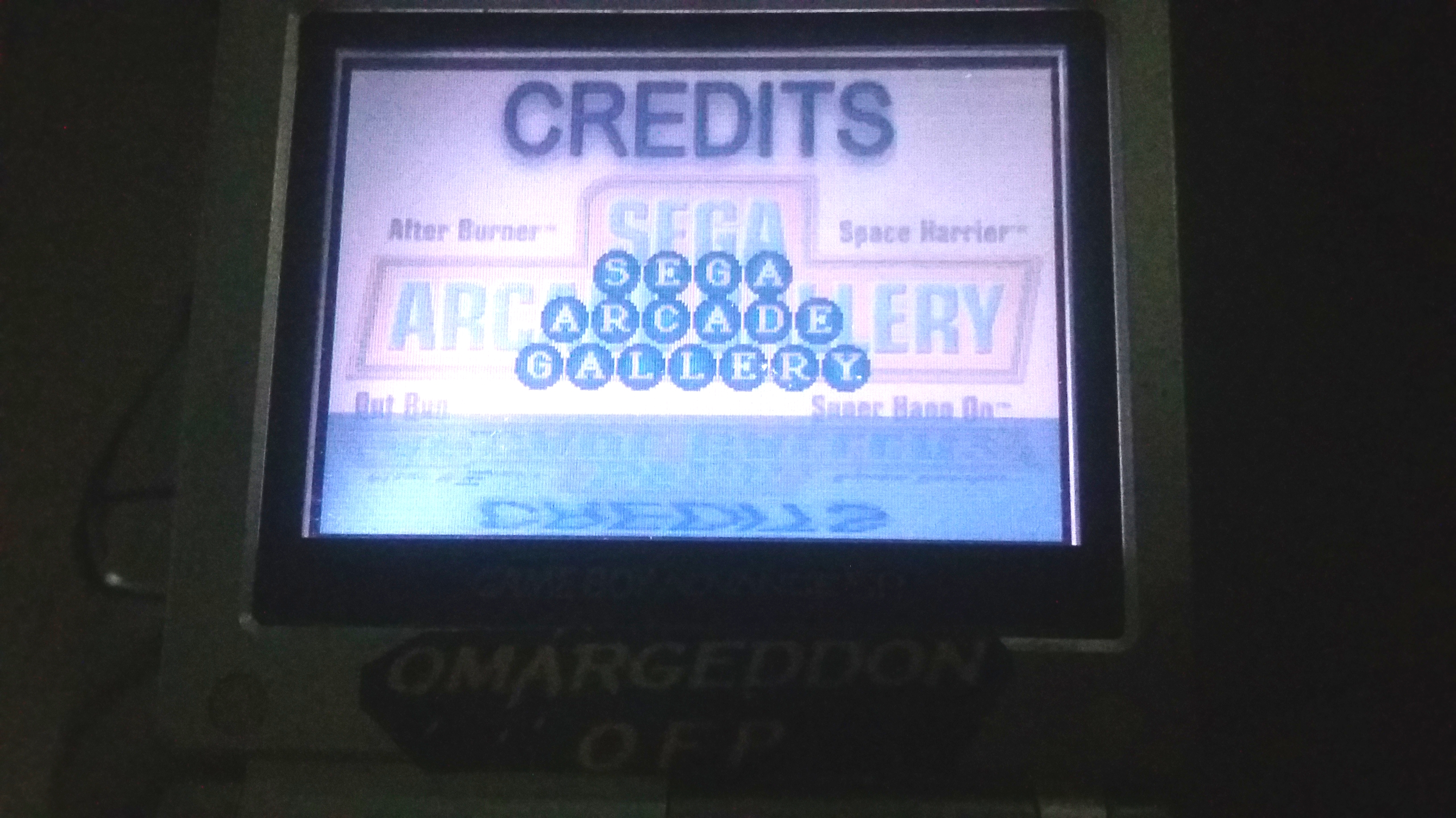 omargeddon: Sega Arcade Gallery: Outrun (GBA) 38,872,030 points on 2018-11-15 02:52:15