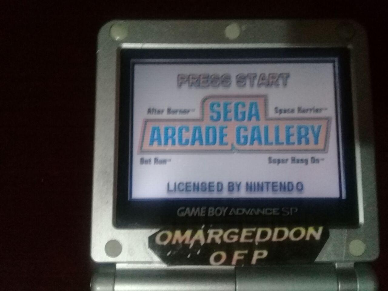omargeddon: Sega Arcade Gallery: Space Harrier (GBA) 254,670 points on 2018-01-01 12:58:15
