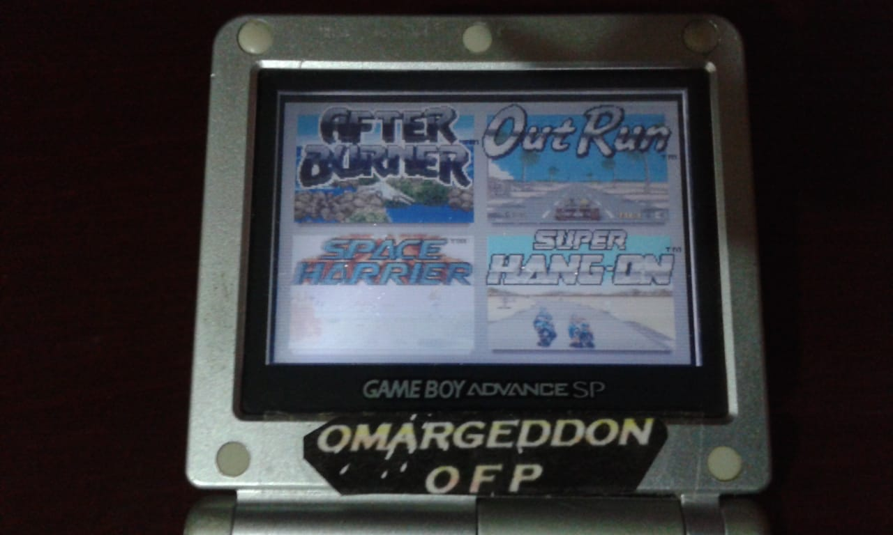 omargeddon: Sega Arcade Gallery: Space Harrier (GBA) 372,870 points on 2018-10-14 11:49:17