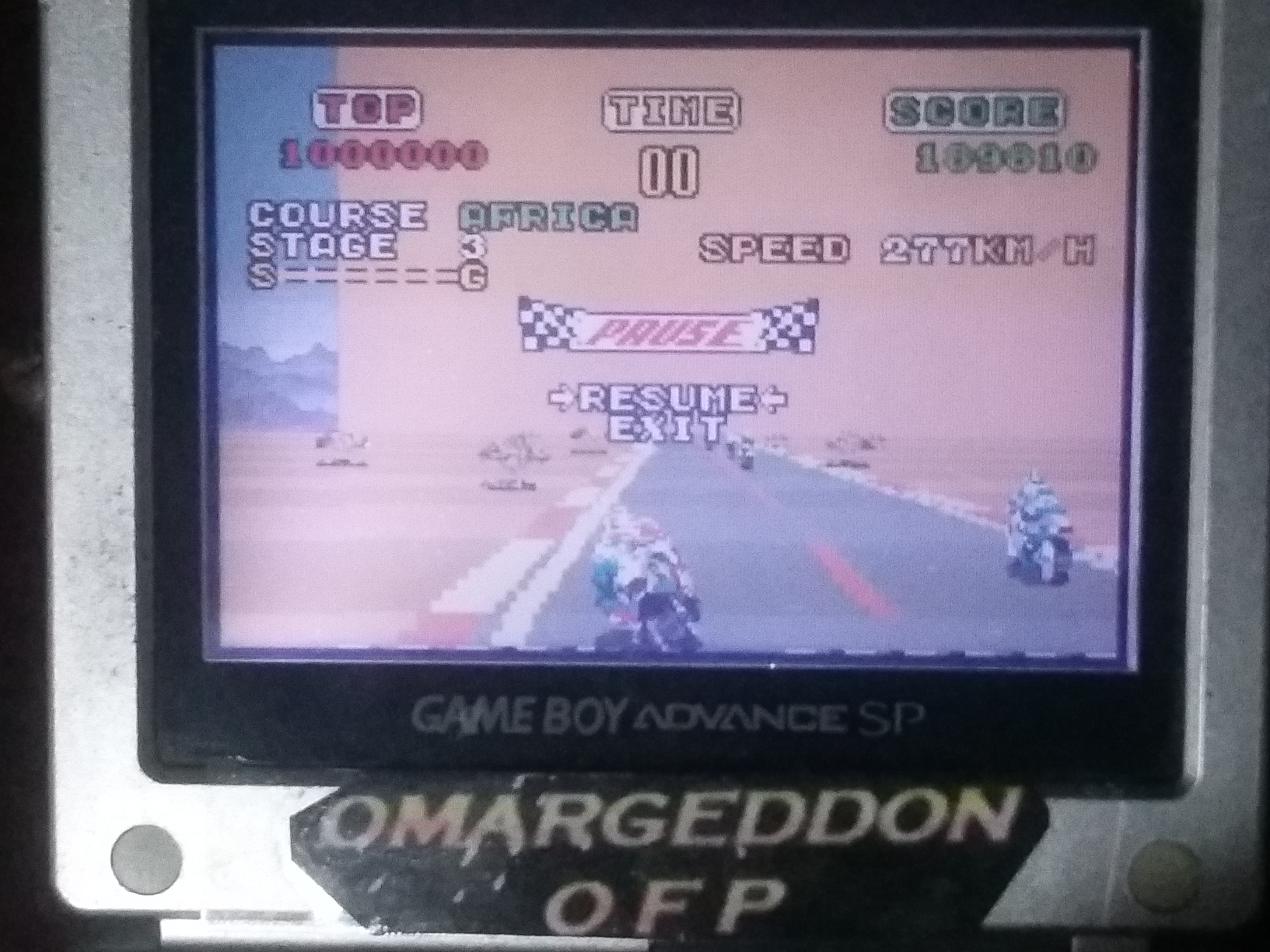 omargeddon: Sega Arcade Gallery: Super Hang-On (GBA) 189,610 points on 2018-01-17 17:35:24