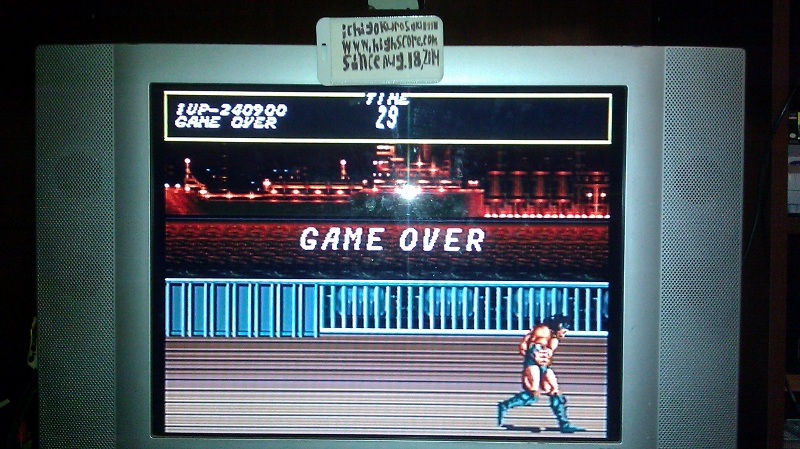 ichigokurosaki1991: Sega Classics Arcade Collection [Sega CD]: Streets of Rage [Normal] (Sega Genesis / MegaDrive) 240,900 points on 2016-05-07 02:22:14