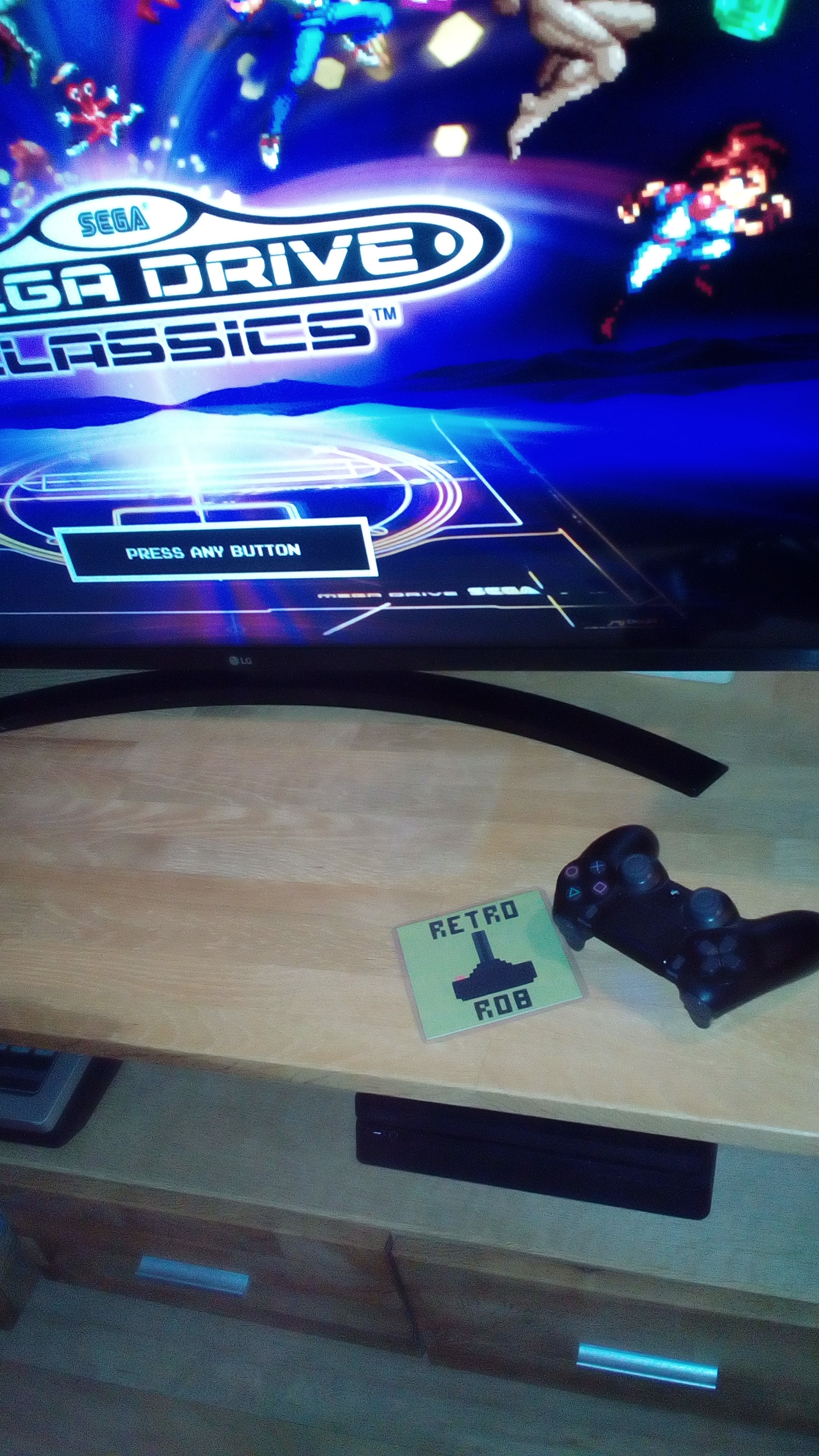 RetroRob: Sega Genesis Classics: Bio-Hazard Battle [Easy] (Playstation 4) 7,630 points on 2020-08-28 15:14:00