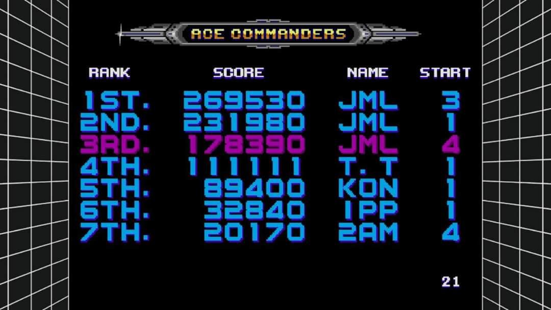 JML101582: Sega Genesis Classics: Galaxy Force II [Hard] (Nintendo Switch) 178,390 points on 2020-01-08 22:50:31