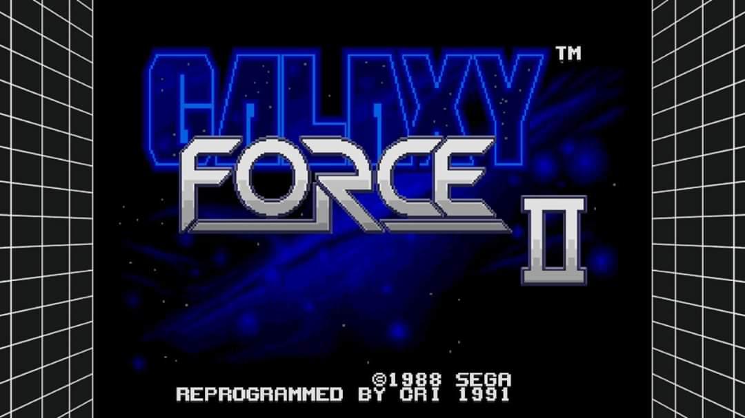 JML101582: Sega Genesis Classics: Galaxy Force II [Normal] (Nintendo Switch) 231,980 points on 2020-01-08 22:46:16