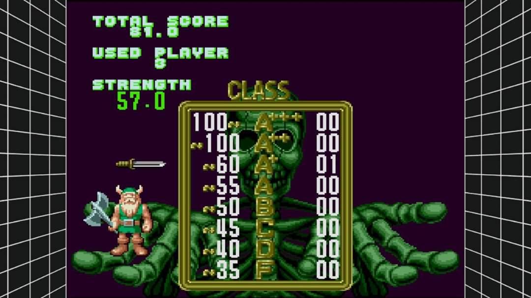 JML101582: Sega Genesis Classics: Golden Axe [Beginner] (Nintendo Switch) 81 points on 2020-01-15 22:19:28