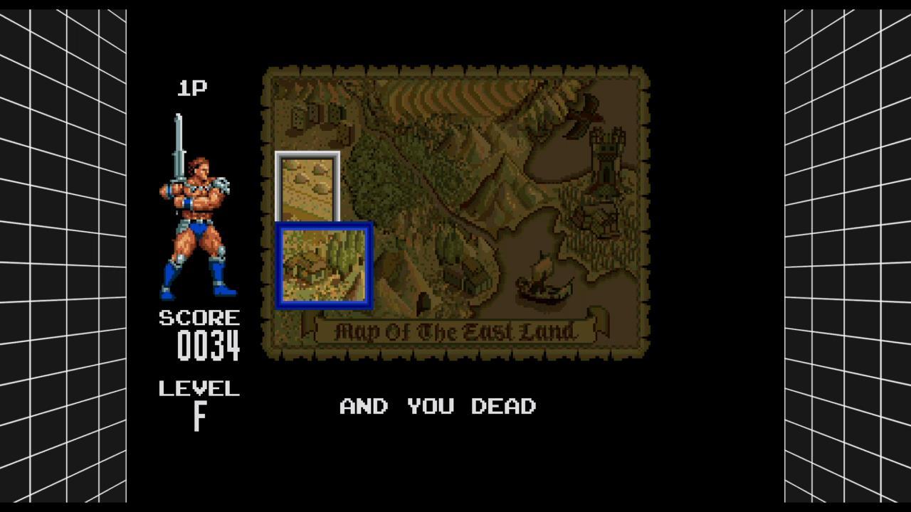 Sega Genesis Classics: Golden Axe III [Normal] 34 points