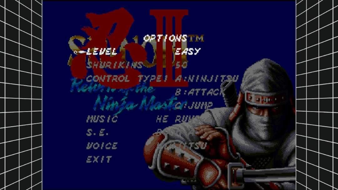 JML101582: Sega Genesis Classics: Shinobi III: Return Of The Ninja Master [Easy] (Nintendo Switch) 36,270 points on 2020-01-09 23:33:37