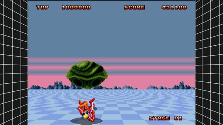 JML101582: Sega Genesis Classics: Space Harrier II (Nintendo Switch) 431,100 points on 2020-01-02 15:18:21
