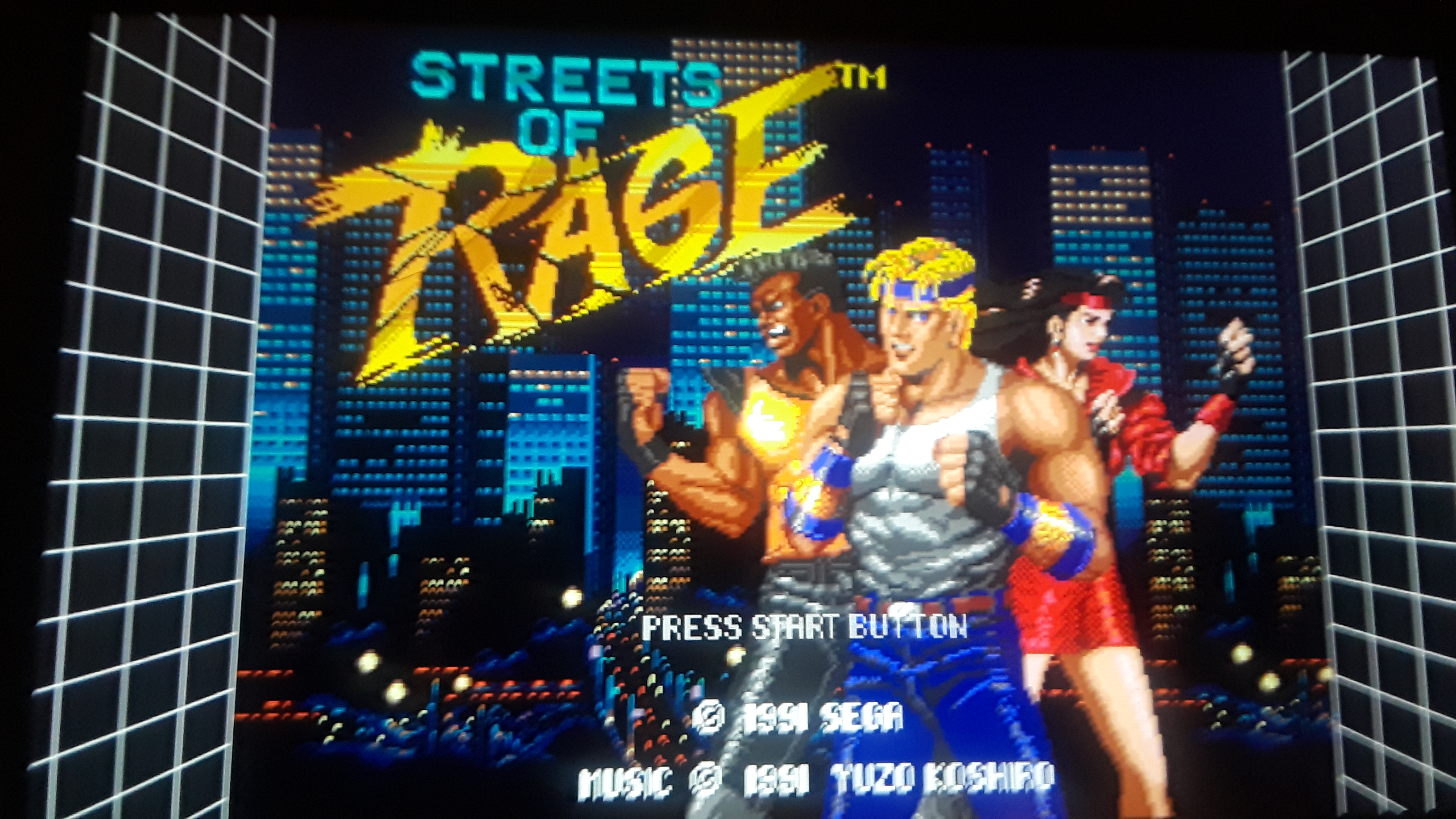 JML101582: Sega Genesis Classics: Streets Of Rage [Normal] (Nintendo Switch) 110,200 points on 2019-12-26 19:30:44
