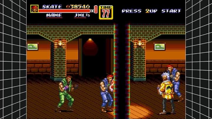 JML101582: Sega Genesis Classics: Streets of Rage 2 [Hard] (Nintendo Switch) 38,540 points on 2019-12-31 22:01:22