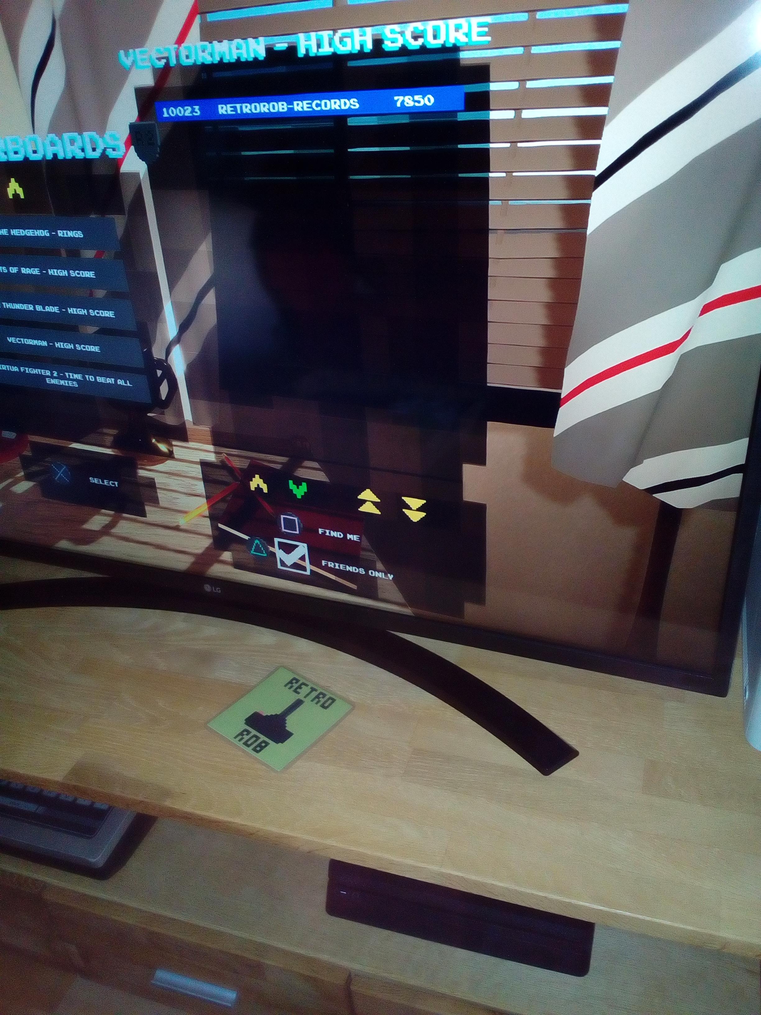 RetroRob: Sega Genesis Classics: Vectorman (Playstation 4) 7,850 points on 2020-12-31 03:40:05