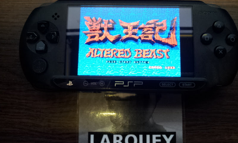 Sega Genesis/Mega Drive Collection: Altered Beast 112,700 points