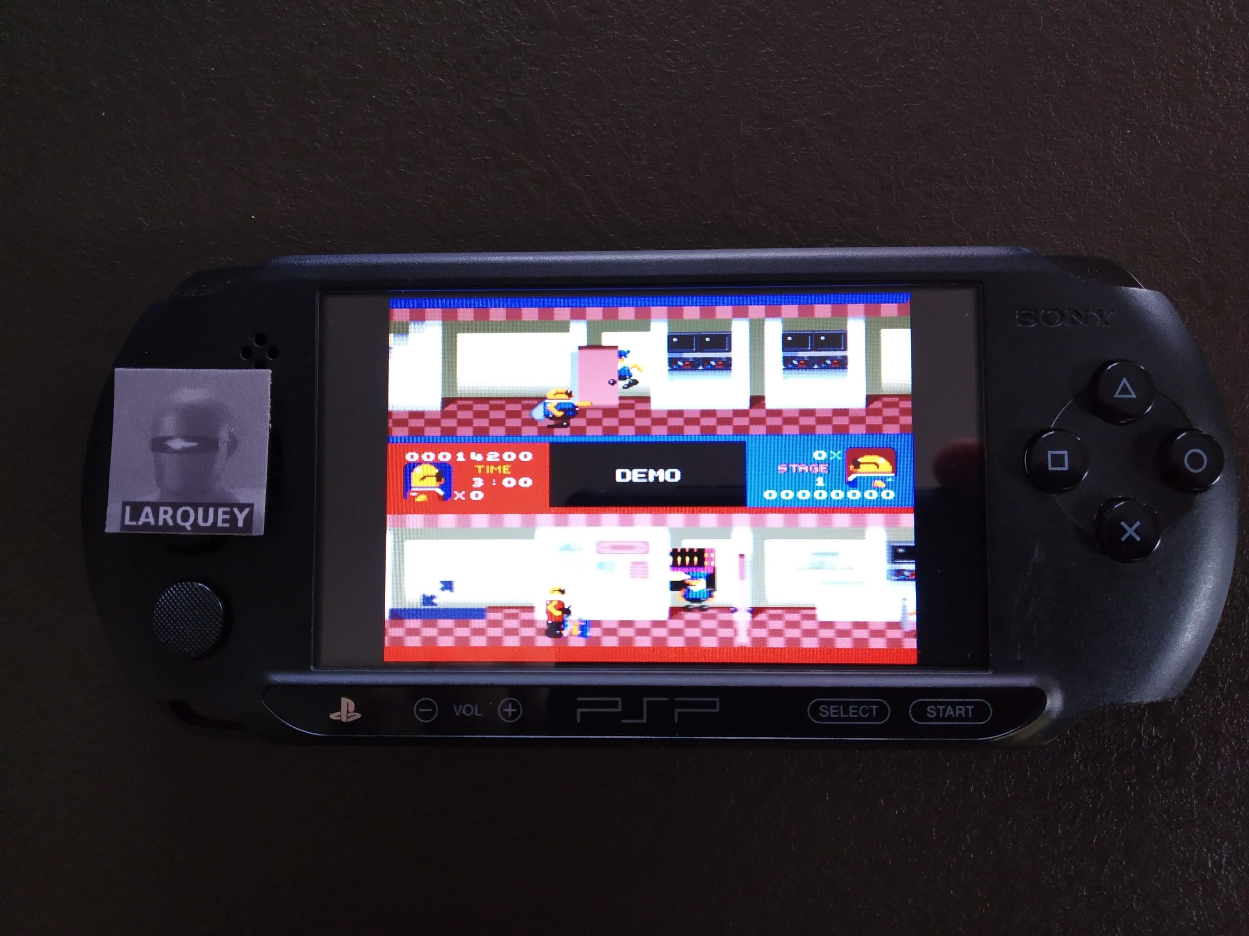 Larquey: Sega Genesis/Mega Drive Collection: Bonanza Bros. [Hard] (PSP) 14,200 points on 2019-12-27 02:34:43
