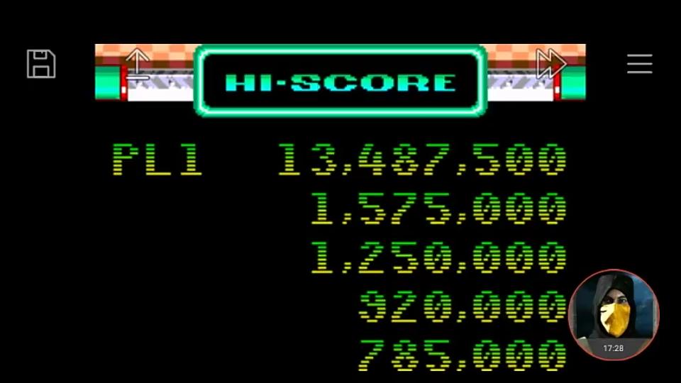 omargeddon: Sega Smash Pack: Sonic Spinball (GBA Emulated) 13,487,500 points on 2019-08-16 12:23:38