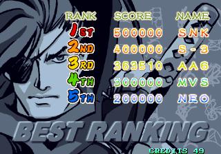 GAMES: Sengoku 3 (Neo Geo) 363,510 points on 2019-12-17 08:29:07