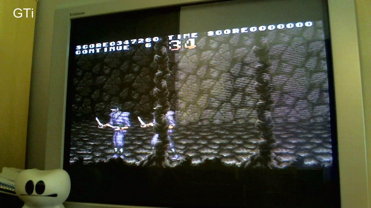 GTibel: Sengoku Denshou [Normal/5 Lives] (SNES/Super Famicom) 347,250 points on 2016-11-19 01:58:54
