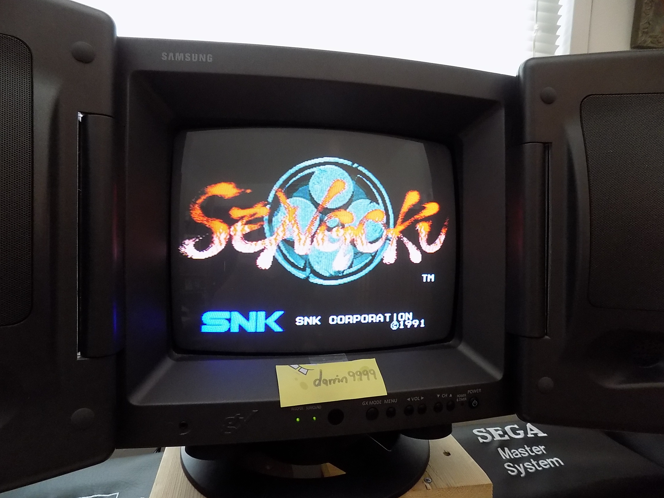 darrin9999: Sengoku (Neo Geo) 14,800 points on 2017-08-03 13:58:56