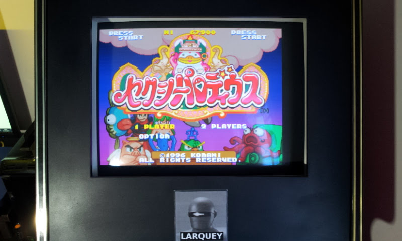 Larquey: Sexy Parodius (Playstation 1 Emulated) 67,900 points on 2018-04-15 09:07:28