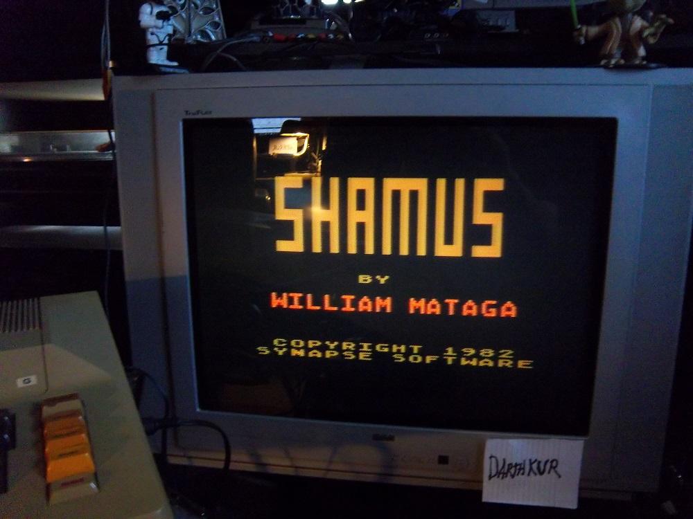 darthkur: Shamus (Atari 400/800/XL/XE) 31,235 points on 2016-04-14 17:59:26