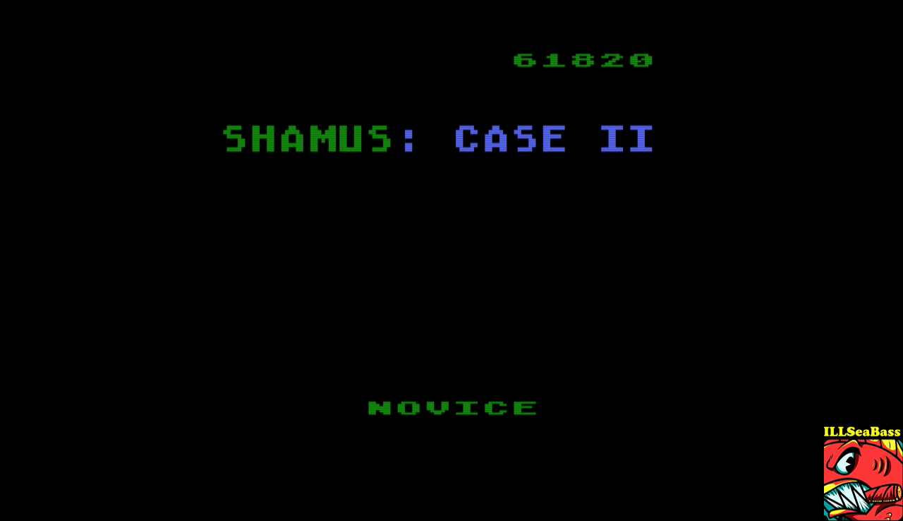 Shamus Case II [Novice] 61,820 points