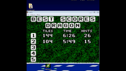 S.BAZ: Shanghai: Dragon [Fastest Finish / Hints Allowed] (Atari Lynx Emulated) 0:06:26 points on 2019-09-18 20:43:52