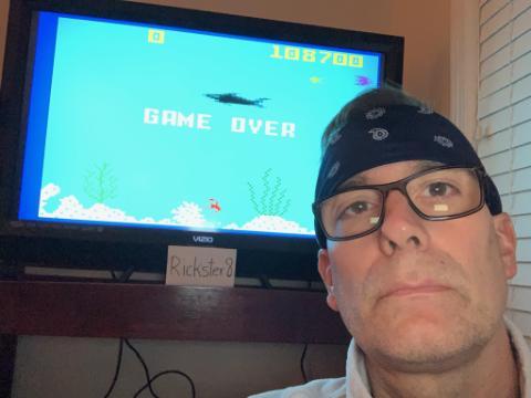 Rickster8: Shark! Shark! (Intellivision Flashback) 108,700 points on 2020-08-29 19:49:21