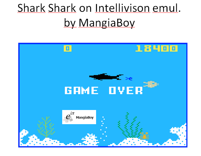 Shark! Shark!: Normal Mode 18,400 points