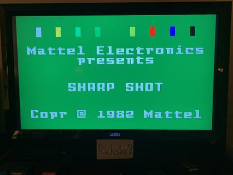 Rickster8: Sharp Shot: Maze Shoot (Intellivision Emulated) 51 points on 2020-11-28 18:14:46