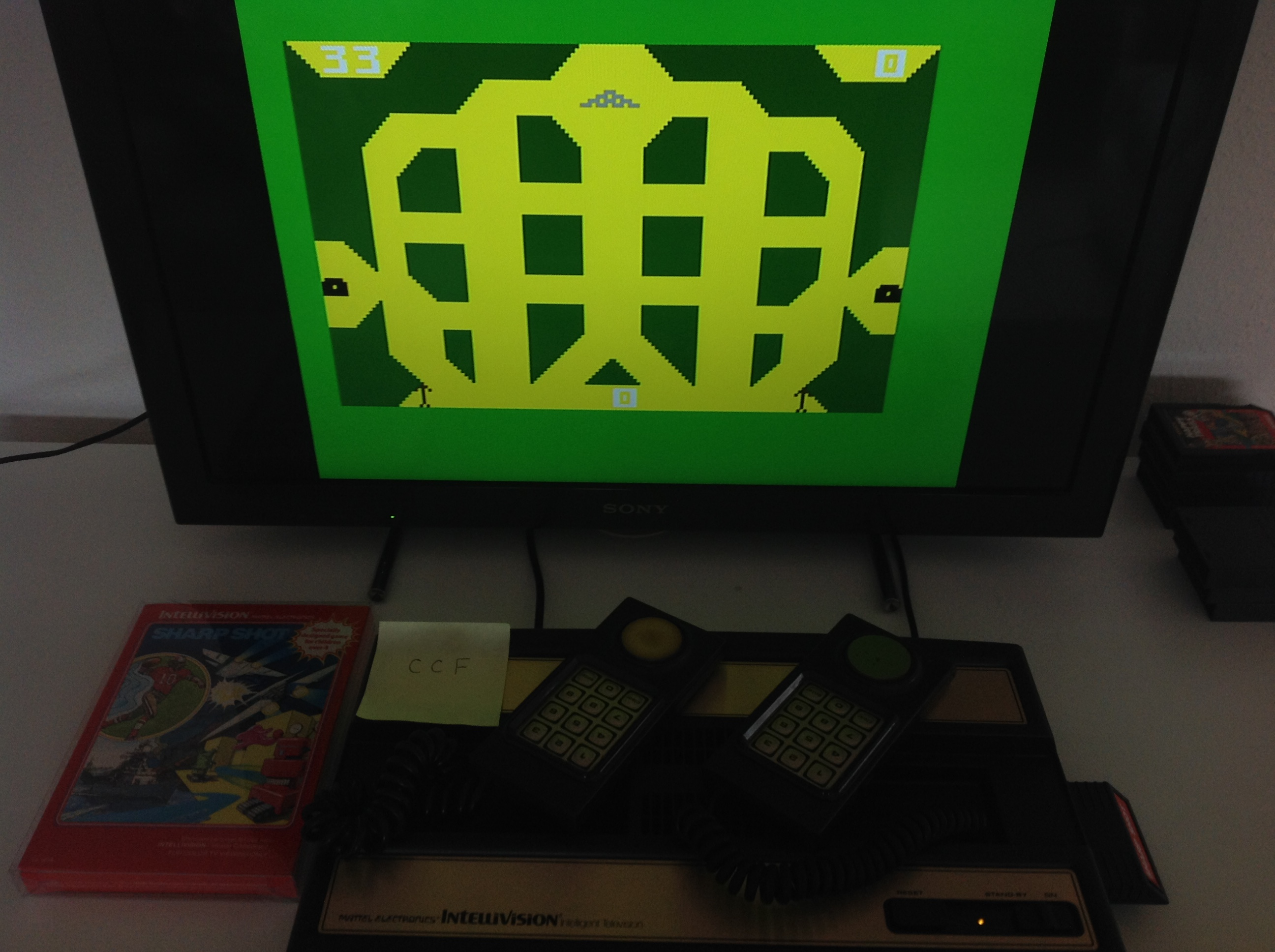 CoCoForest: Sharp Shot: Maze Shoot (Intellivision) 33 points on 2018-08-20 09:06:01