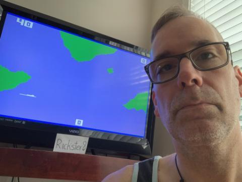 Rickster8: Sharp Shot: Submarine (Intellivision Emulated) 40 points on 2020-10-10 12:50:10