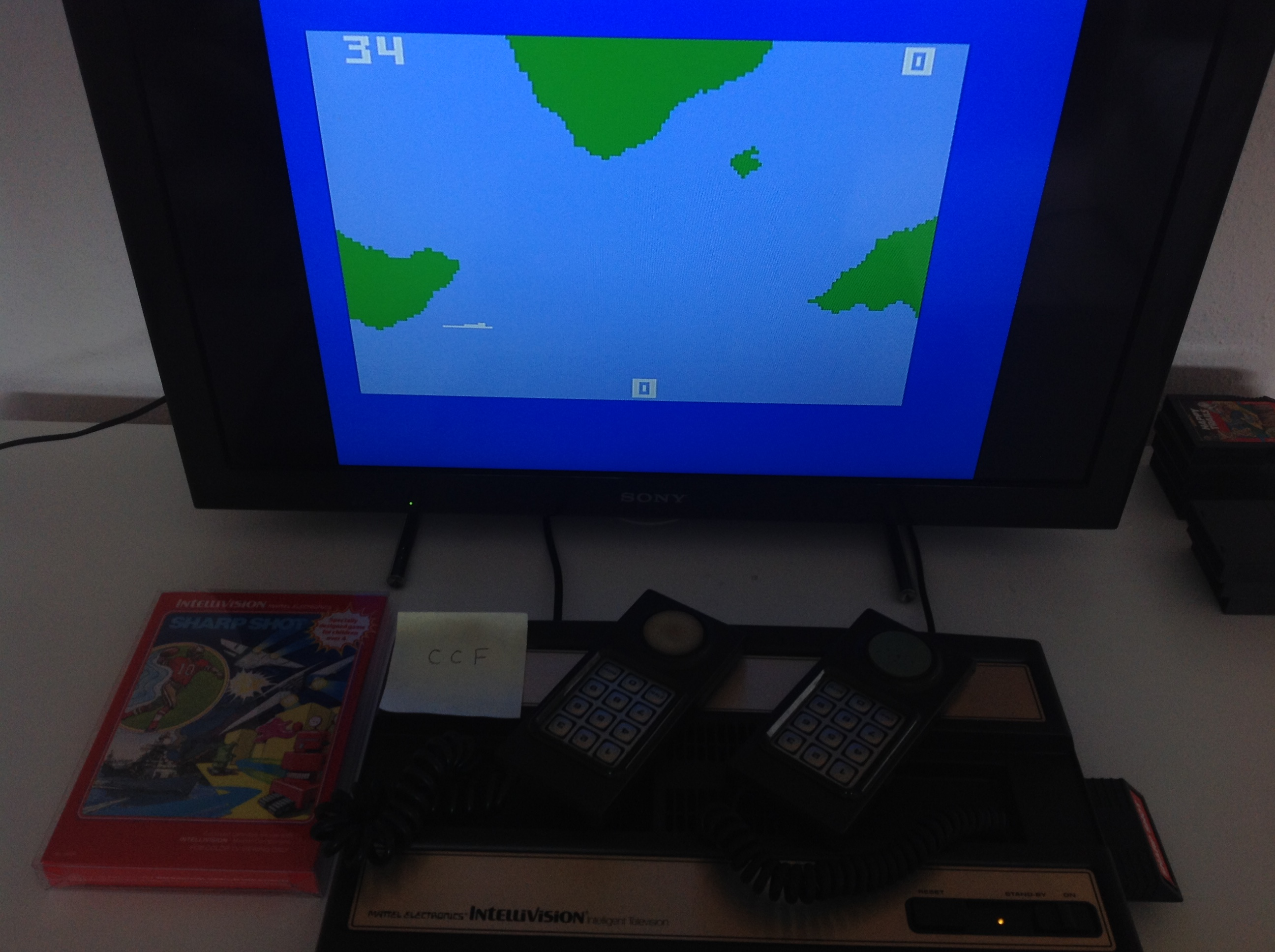 CoCoForest: Sharp Shot: Submarine (Intellivision) 34 points on 2018-08-20 09:09:30