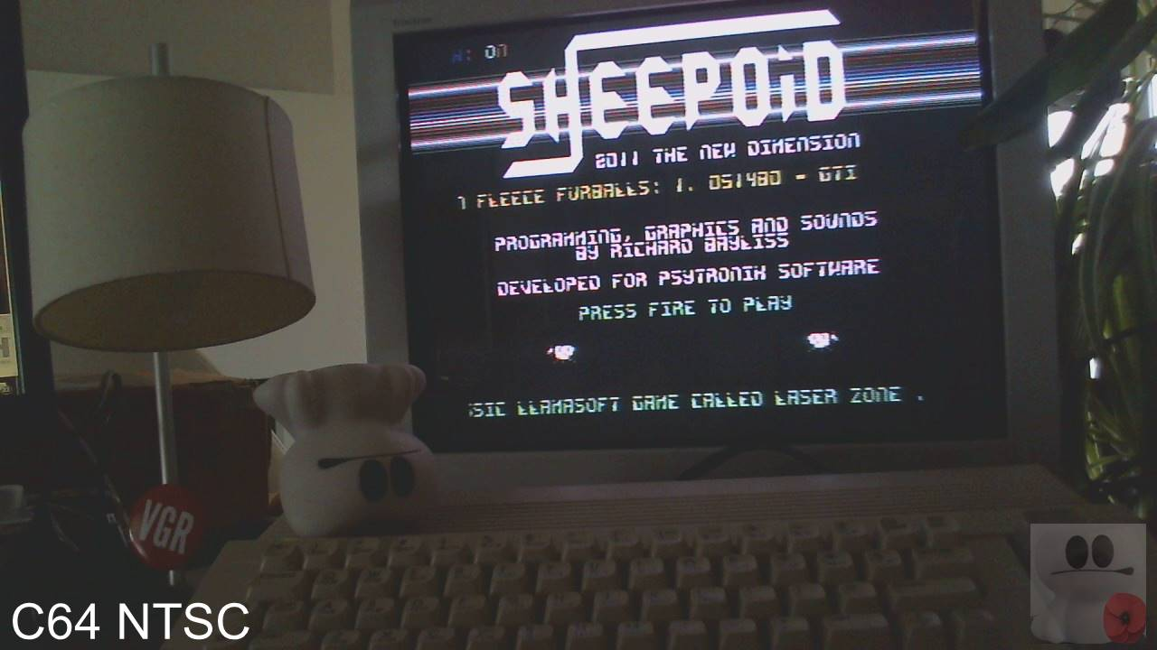 GTibel: Sheepoid (Commodore 64) 51,480 points on 2020-02-17 06:29:11