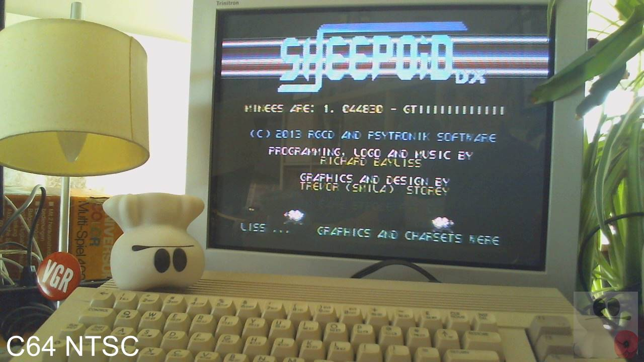 GTibel: Sheepoid DX (Commodore 64) 43,950 points on 2020-04-19 07:37:47