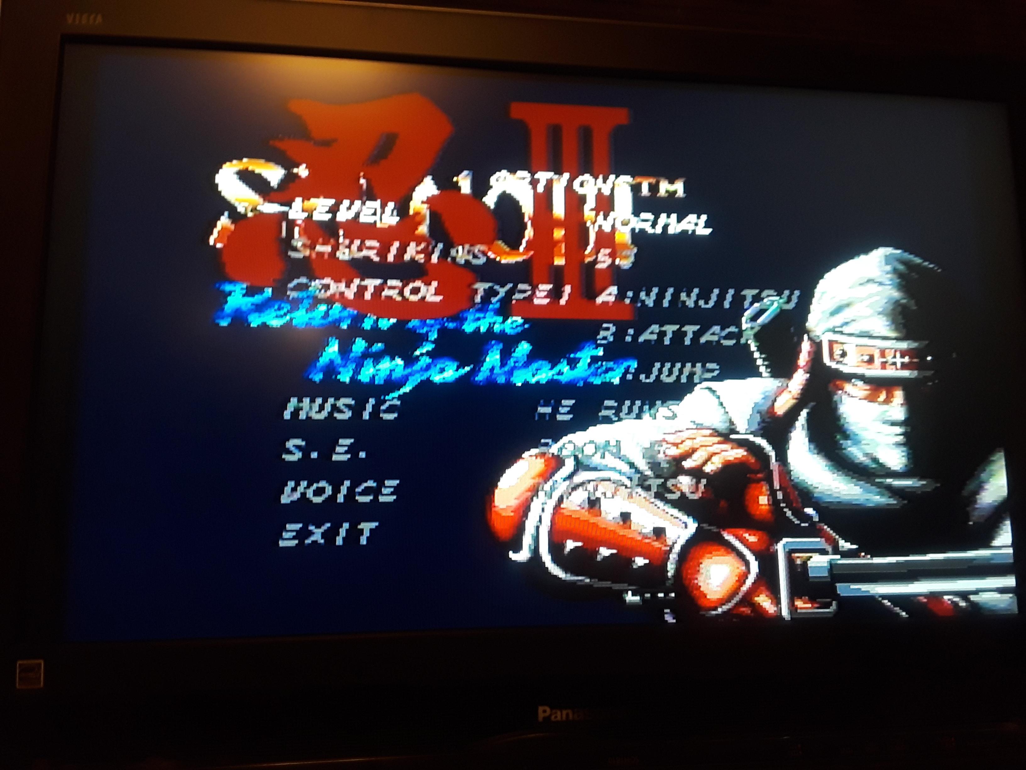 Shinobi III: Return of the Ninja Master 35,350 points