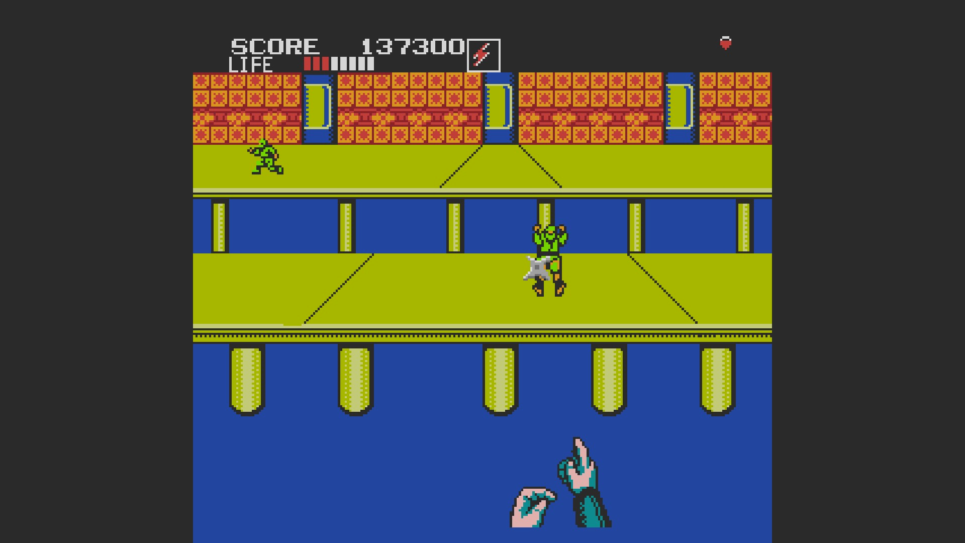 AkinNahtanoj: Shinobi (NES/Famicom Emulated) 137,300 points on 2020-10-27 10:16:12