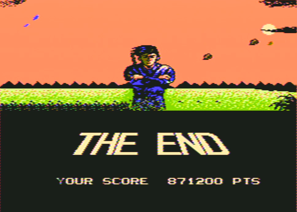 DonAtreides: Shinobi (NES/Famicom) 871,200 points on 2016-01-01 17:09:29