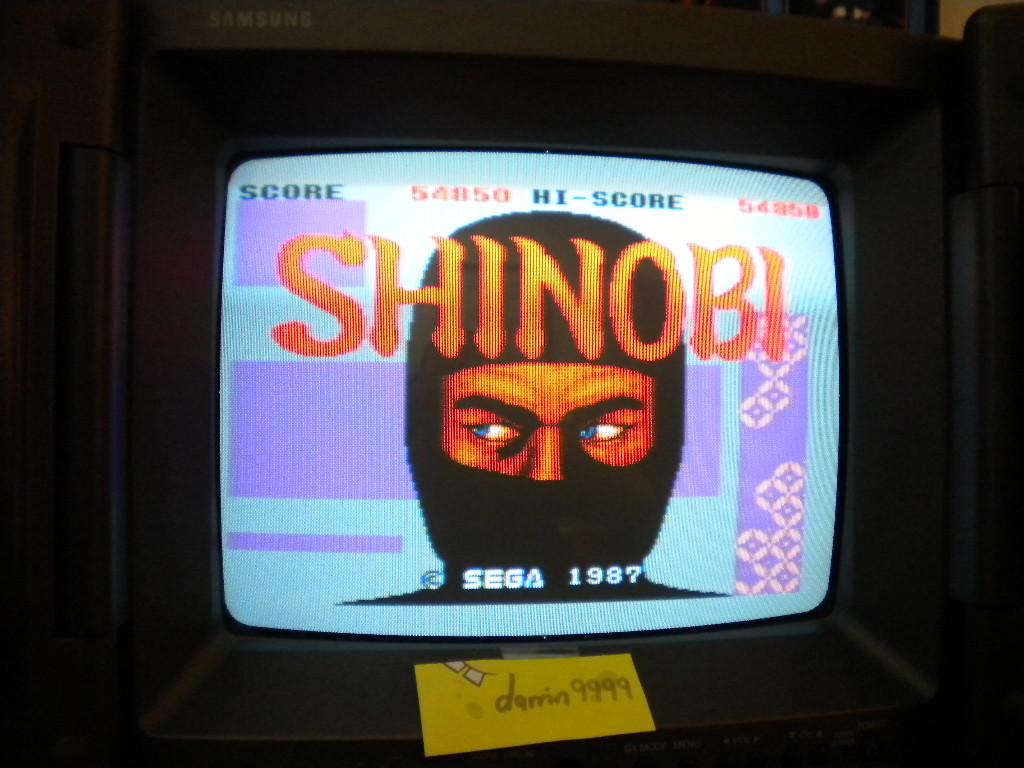 Shinobi 54,850 points