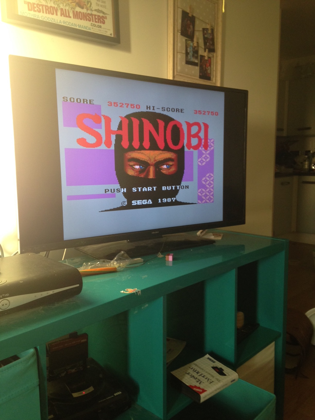 mechafatnick: Shinobi (Sega Master System) 352,750 points on 2015-12-29 09:38:58