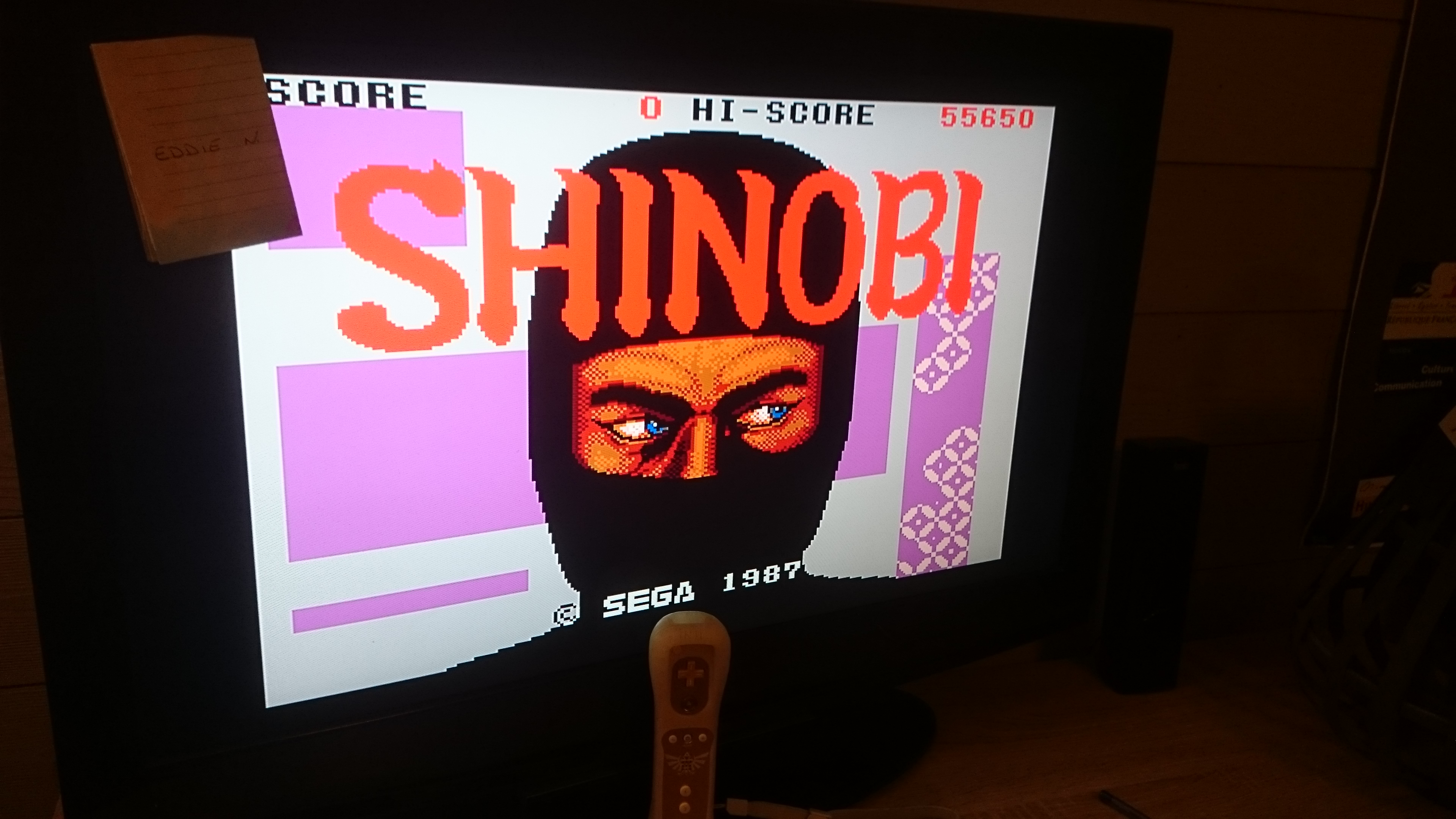 Shinobi 55,650 points