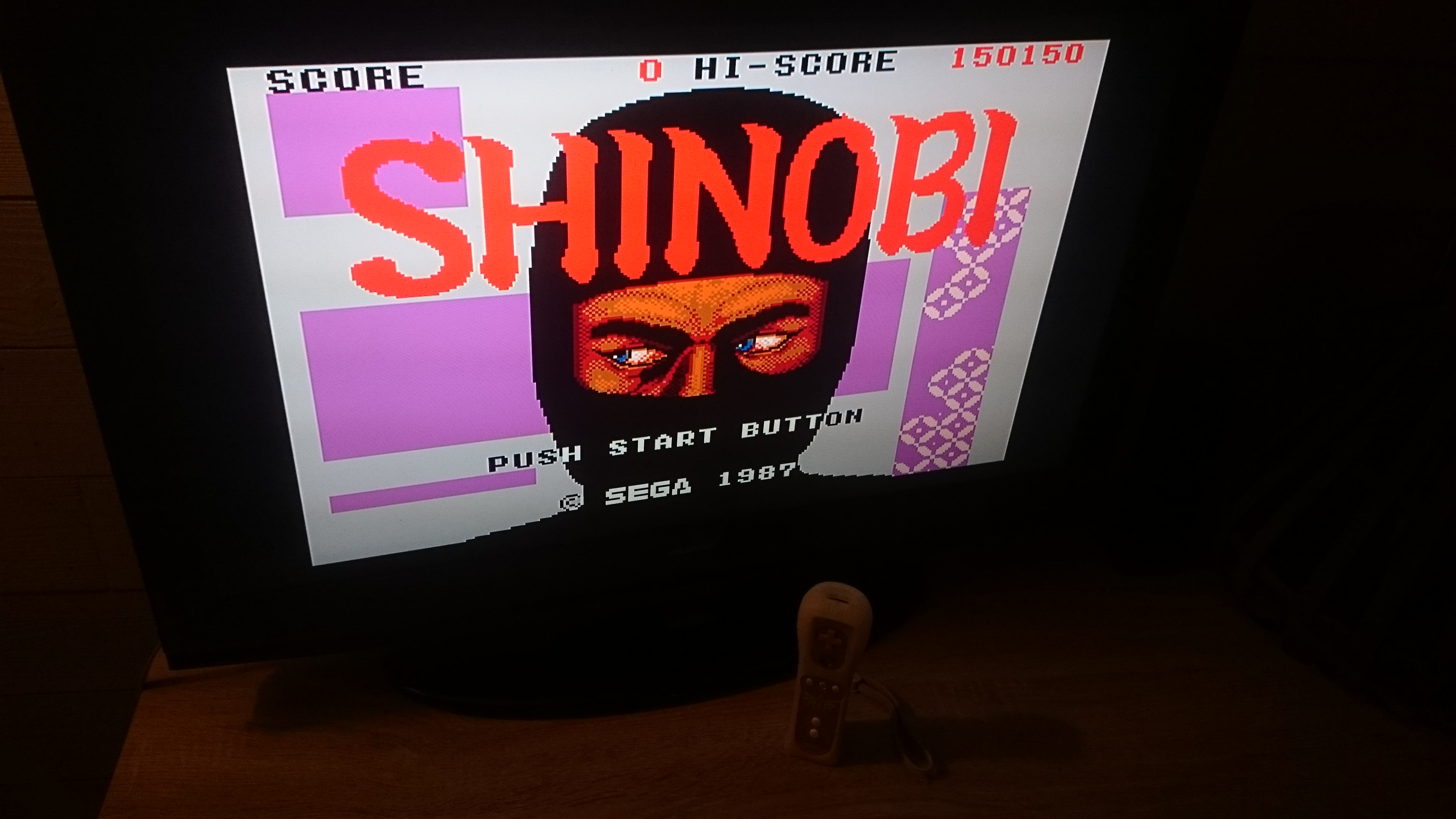EddieNiceguy: Shinobi (Sega Master System Emulated) 150,150 points on 2017-11-23 11:18:30