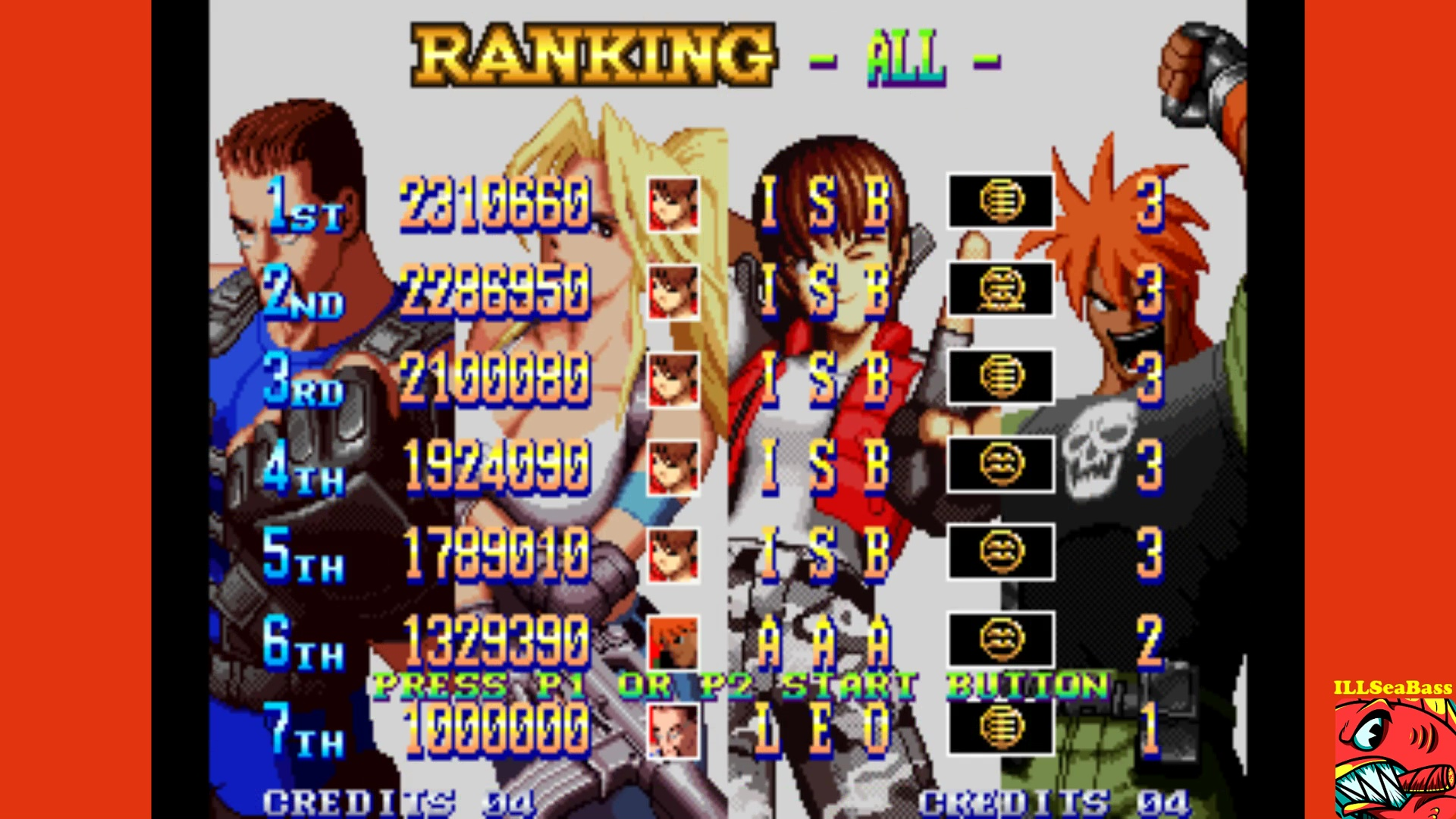 ILLSeaBass: Shock Troopers: 2nd Squad (Neo Geo Emulated) 2,310,660 points on 2017-10-18 20:14:58