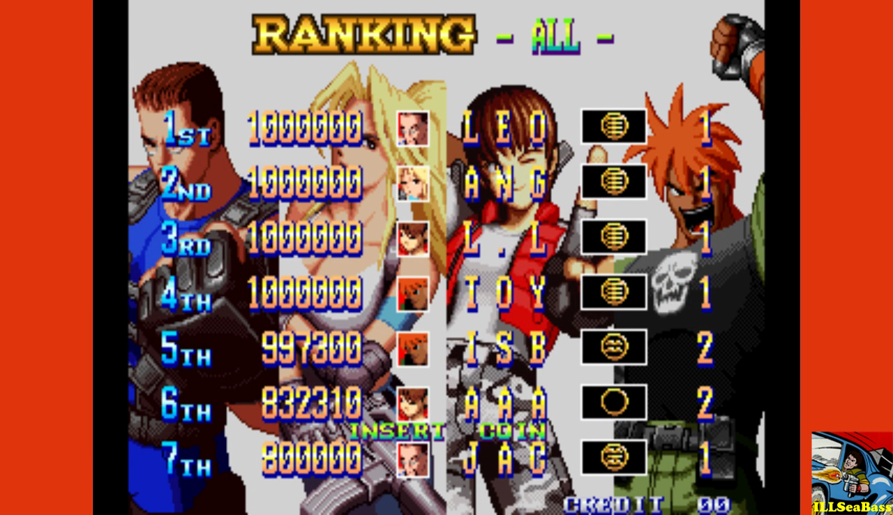ILLSeaBass: Shock Troopers: 2nd Squad [shocktr2] (Arcade Emulated / M.A.M.E.) 997,300 points on 2016-12-24 23:20:51