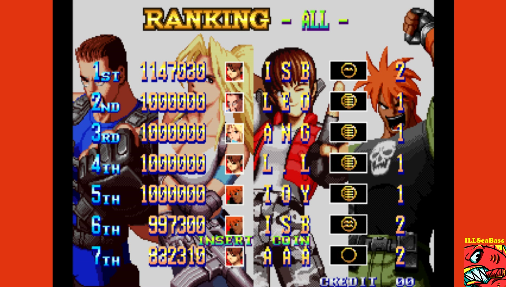 ILLSeaBass: Shock Troopers: 2nd Squad [shocktr2] (Arcade Emulated / M.A.M.E.) 1,147,030 points on 2017-05-21 00:56:29