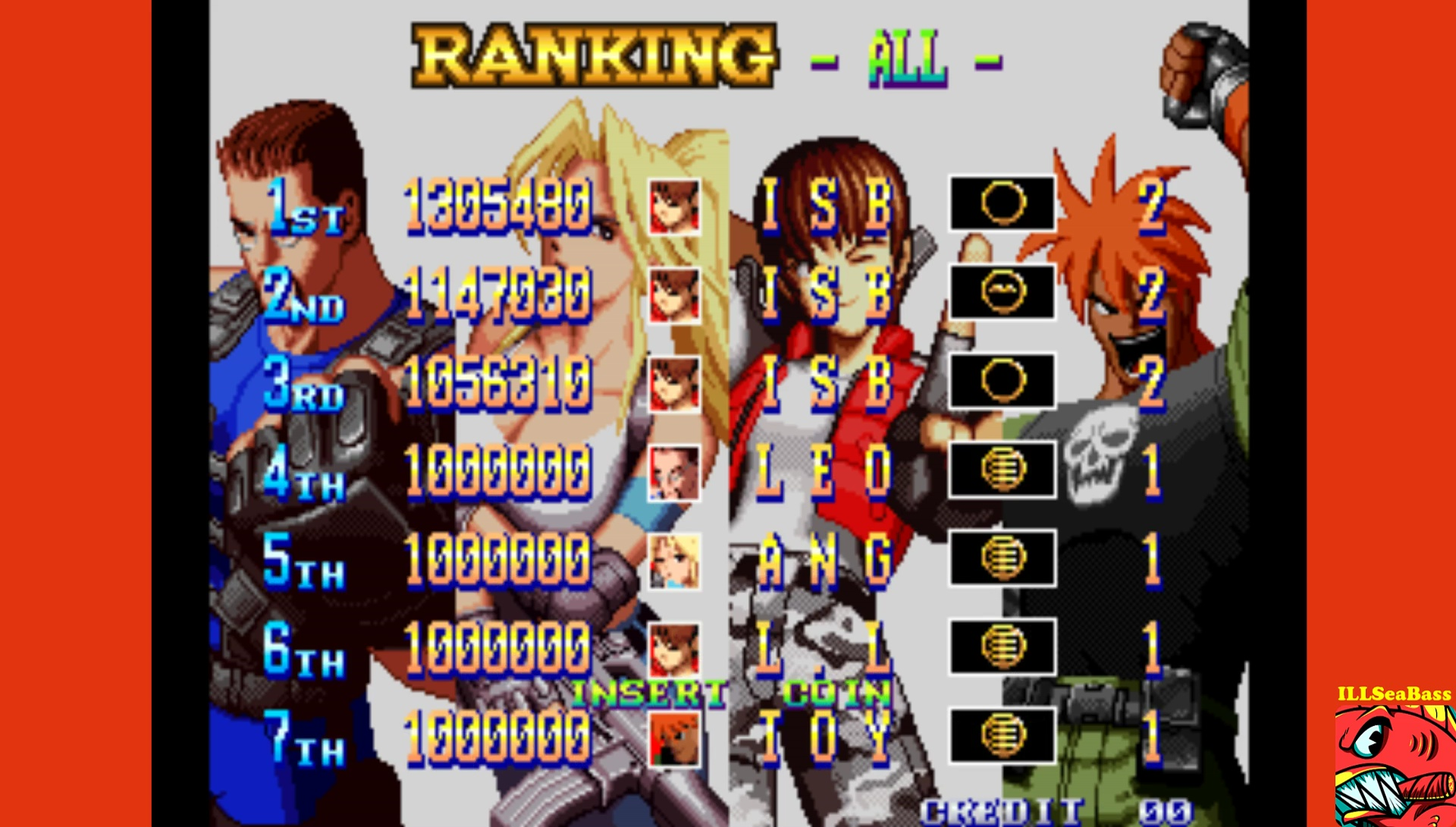 ILLSeaBass: Shock Troopers: 2nd Squad [shocktr2] (Arcade Emulated / M.A.M.E.) 1,305,480 points on 2017-06-14 22:35:28
