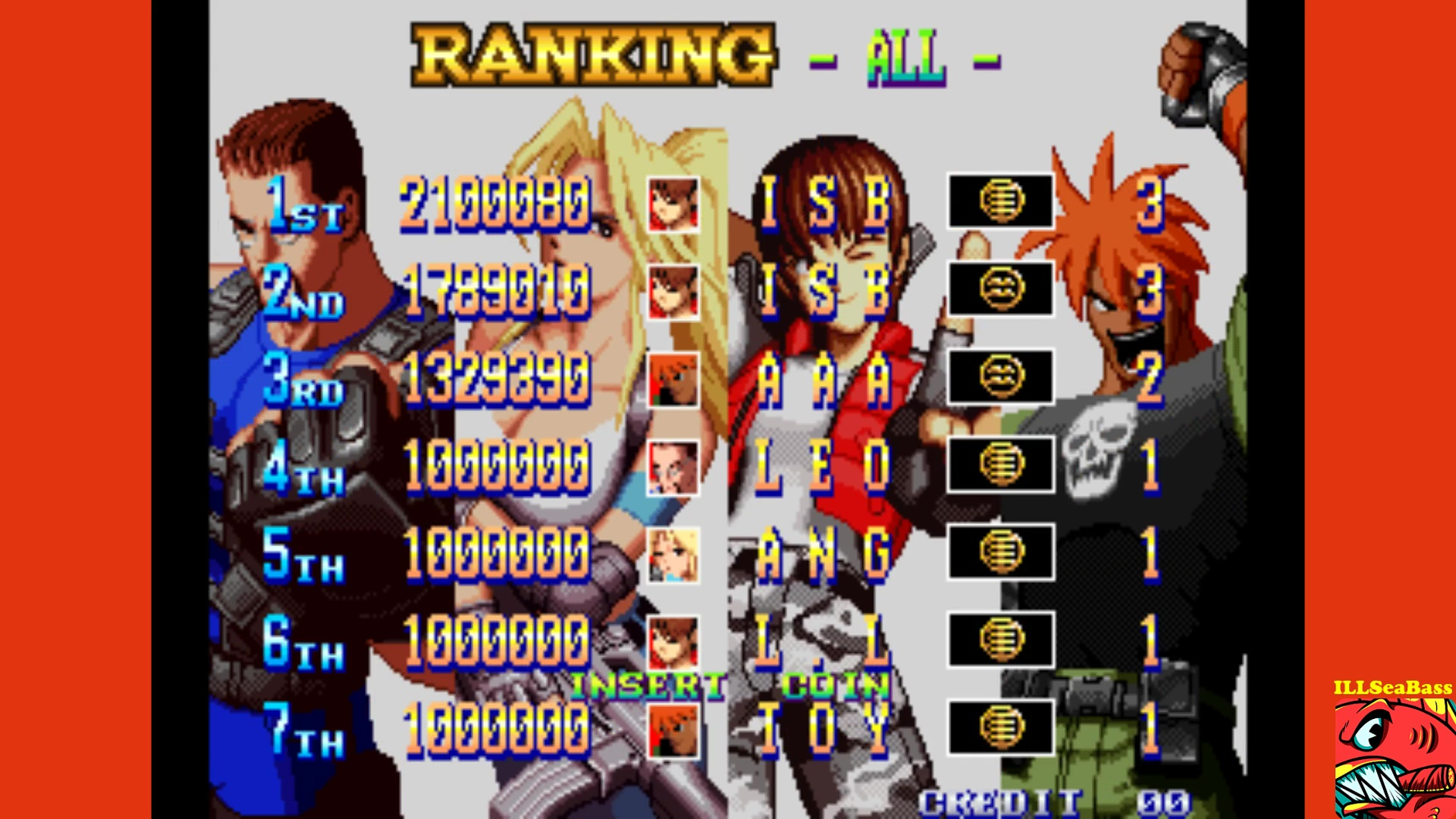 ILLSeaBass: Shock Troopers: 2nd Squad [shocktr2] (Arcade Emulated / M.A.M.E.) 2,100,080 points on 2017-10-10 22:34:27