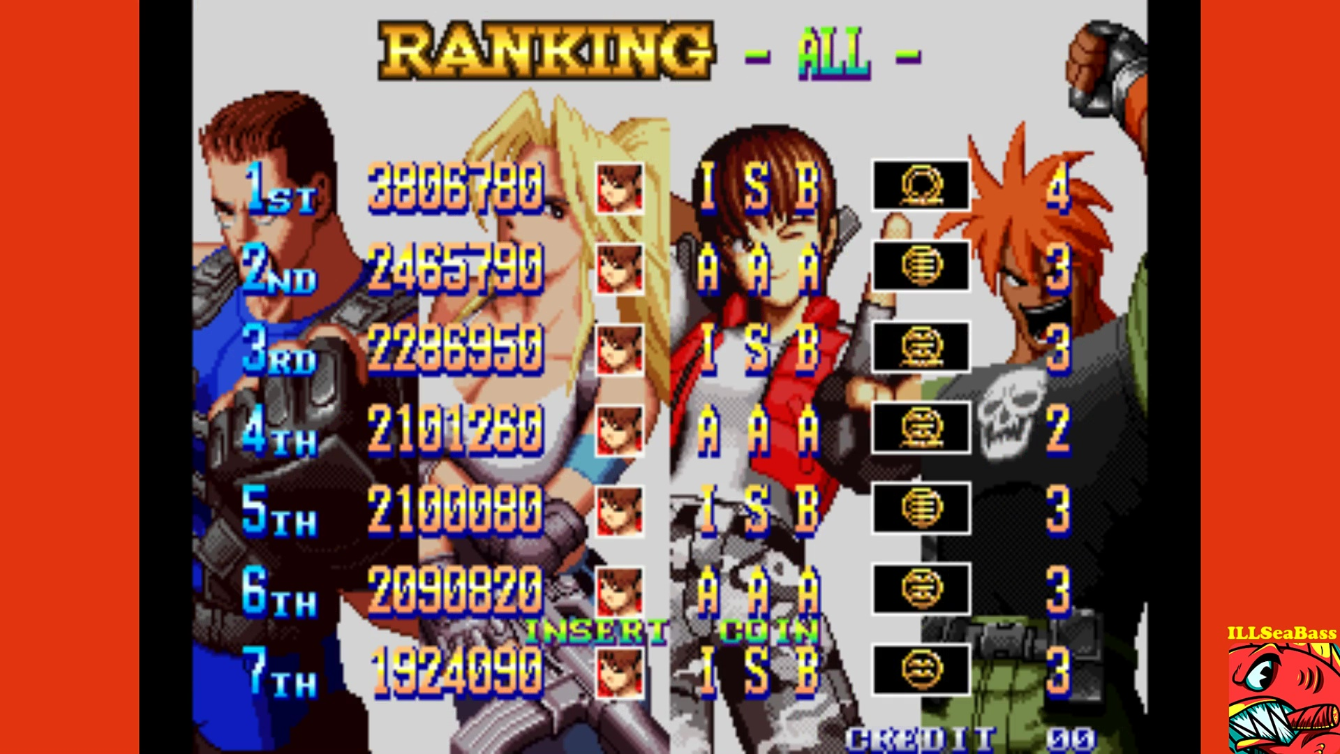 ILLSeaBass: Shock Troopers: 2nd Squad [shocktr2] (Arcade Emulated / M.A.M.E.) 3,806,780 points on 2017-10-31 21:15:51