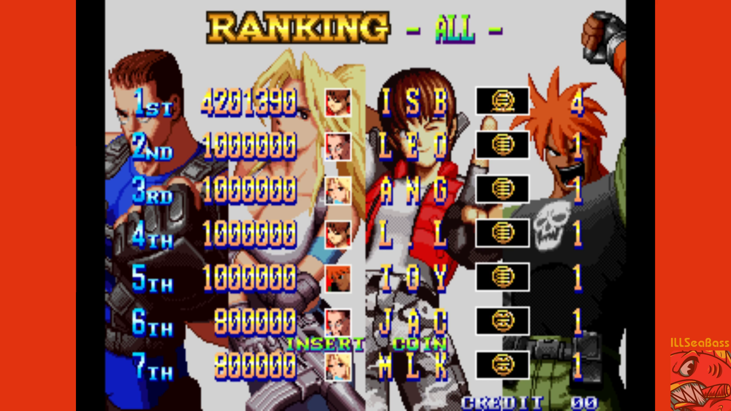 ILLSeaBass: Shock Troopers: 2nd Squad [shocktr2] (Arcade Emulated / M.A.M.E.) 4,201,390 points on 2019-03-11 13:30:17