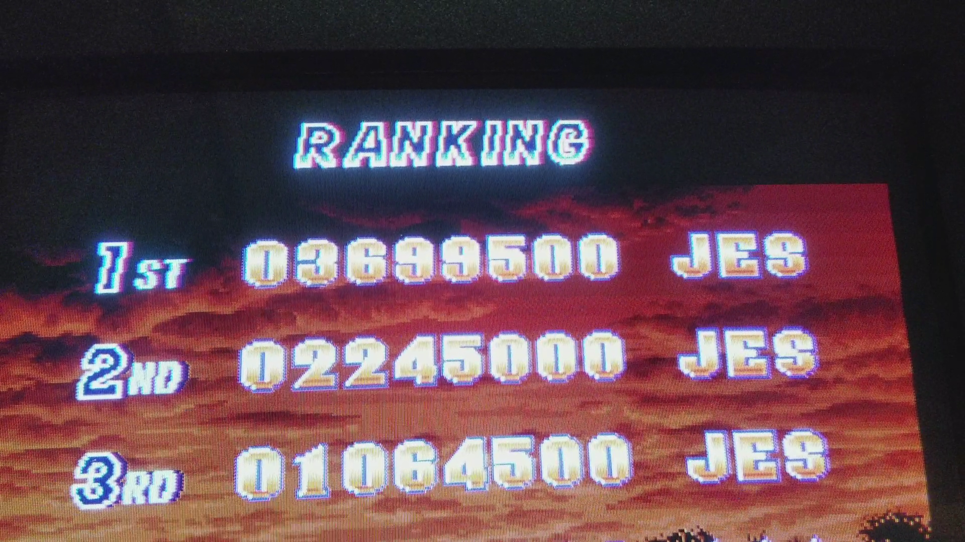 JES: Shock Troopers [shocktro] (Arcade Emulated / M.A.M.E.) 3,699,500 points on 2017-08-25 11:46:44