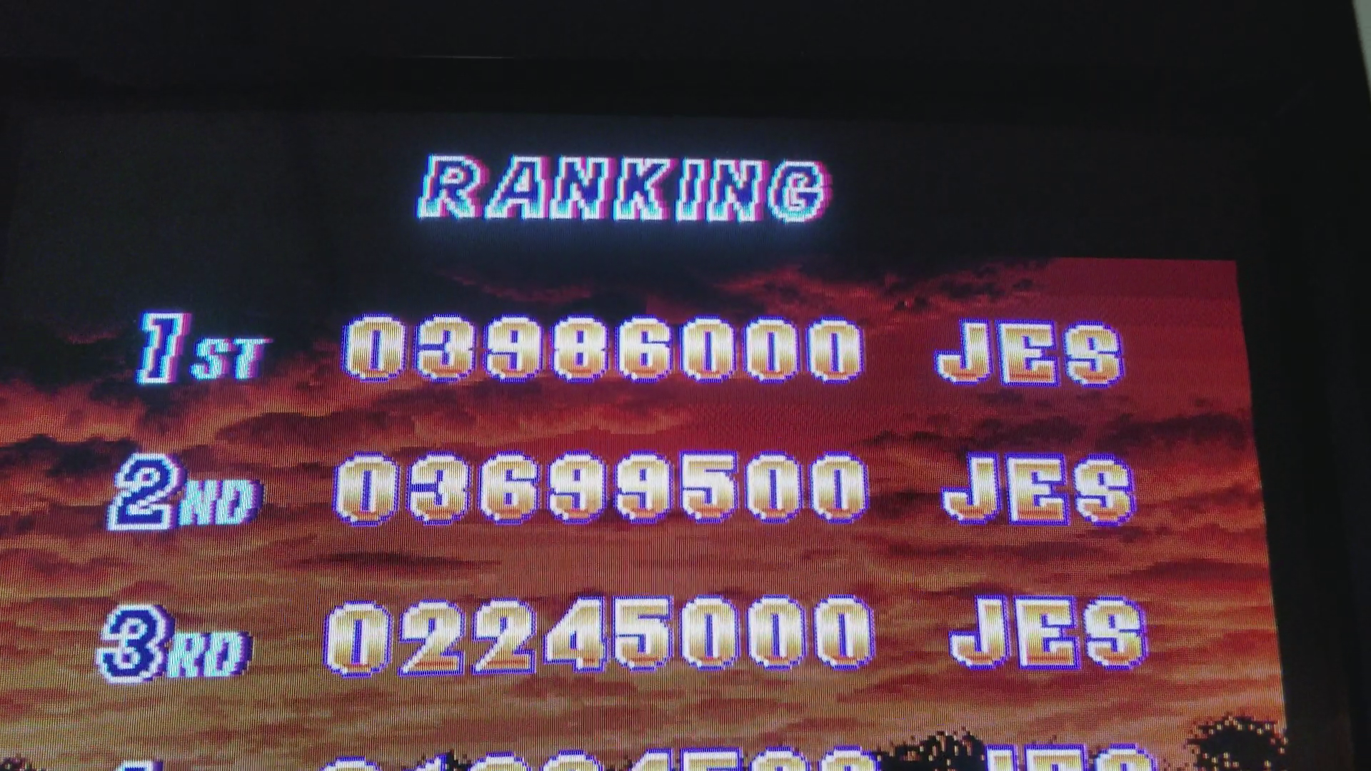 JES: Shock Troopers [shocktro] (Arcade Emulated / M.A.M.E.) 3,986,000 points on 2017-10-16 16:15:57