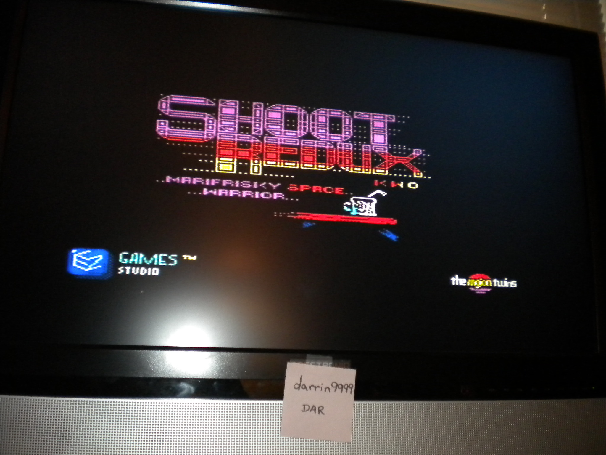darrin9999: Shoot Redux [Difficulty Level: Free Choice] (ZX Spectrum Emulated) 264 points on 2016-11-13 07:46:40